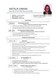 Resume In Spanish Gorgeous Resume Template Spanish Best Resume Examples
