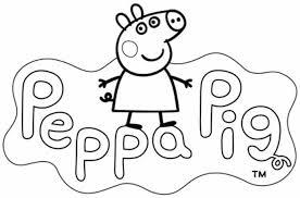 Scarica gratis in pdf a4. Peppa Pig Da Colorare Cose Per Crescere
