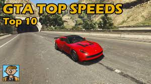Gta Car Comparison Chart Top 10 Fastest Cars 2019 Gta 5 Best Fully Upgraded Cars Top Speed Countdown