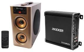 Kicker Cxa300 1 Red Light Kicker 43cxa3001 Cxa300 1 300 Watt Rms Mono Class D Amplifier Amp Free Speaker