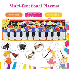 110x36cm <b>Piano Mats Music</b> Carpets Children Touch Play <b>Mat</b> with ...