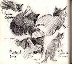 Cats Gone By - by Cathy (Kate) Johnson from The Artist's Journal