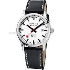 men s mondaine swiss railways sport day date watch a6673030816sbb mens mondaine swiss railways sport day date watch a6673030816sbb