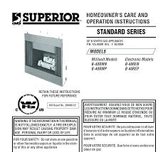 superior fireplace insert propane inserts er dealers superior fireplace insert