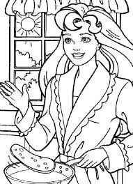 Small Picture Barbie Cooking Coloring Pages Kids Coloring Pages Pinterest