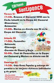 Carnaval 2020 21-22 y 23 de Febrero