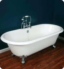 cast iron bathtub cleaning noble double