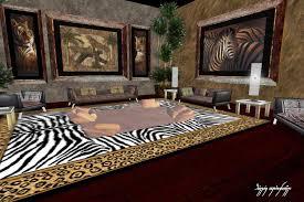 African Safari Inspired Home Decor Style. Image Of Safari Living Room  Furniture