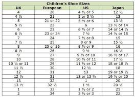 Boys Shoe Conversion Chart Shop Abroad With These Clothing Size Conversion Charts