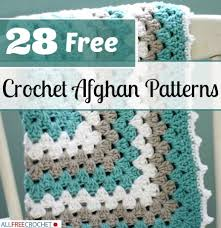 Free Patterns Crochet Best 48 Free Crochet Afghan Patterns AllFreeCrochet