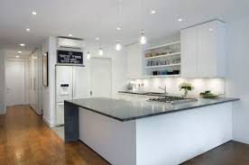 Kitchen marble top Kitchen Cabinet Kitchens As Well View In Gallery Homedit Marble Kitchen Countertops Are Coming Back
