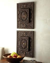 outstanding carved wood wall decor home design art india white uk throughout most cur white wooden
