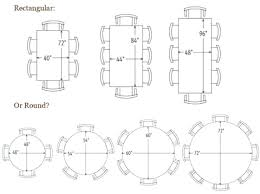 round table size for 10 dining room table size for awesome round dining table sizes 1
