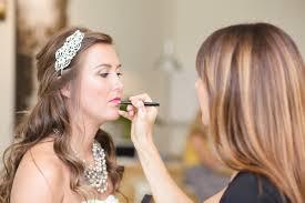 hair makeup wedding day