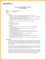Sales Manager Responsibilities Regional Sales Manager Job