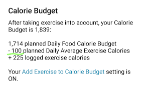 Planning Weight Calories Mynetdiary