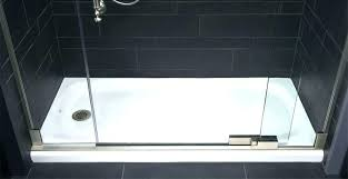 kohler corner shower base shower black shower base cast iron shower receptor black shower base black kohler corner shower base