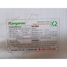 Bếp điện từ đơn Kangaroo KG20IH1 / KG20IH6 hoặc KG365i kèm nồi lẩu - Bảo  hành chính hãng 1 năm, Giá tháng 4/2021