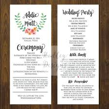 What Is A Pamphlet Sample Sample Wedding Program Template Achievable Examples Creative