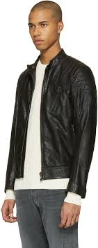 belstaff black leather sandway jacket men belstaff motorcycle jackets canada luxury lifestyle brand