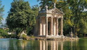 Architectural Buildings of the World Villa Borghese Gardens