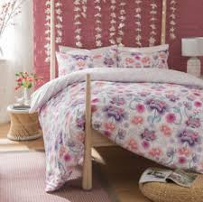Oriental Flower Lilac Duvet Cover and PillowCase Bedding Set All ... & Image is loading Oriental-Flower-Lilac-Duvet-Cover-and-PillowCase-Bedding- Adamdwight.com