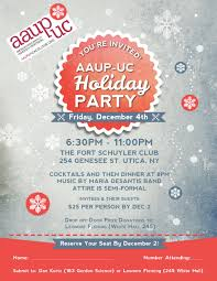 don t forget to reserve your seat for the aaup uc holiday party aaup holiday party flyer