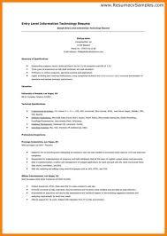Entry Level Resume Cover Letter Examples Entry Level Nursing