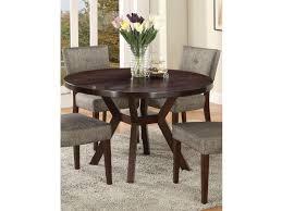 48 round dining table in espresso
