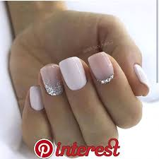 130 Glitter Gel Nail Designs For Short Nails For Spring 2019 Page 20