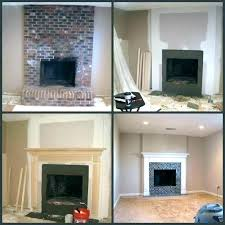 how to update brick fireplace stone fireplace remodel rock fireplace makeover brick fireplace remodel before and