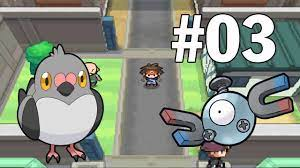 Pokemon Black 2 Việt Hóa #3 - Thu Phục Magnemite Và Pidove - YouTube