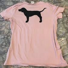 Campus Crew Size Chart Vs Pink Campus Crew Short Sleeve Dog Tee