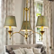 vintage bedroom lighting. aliexpresscom buy vintage home lighting chandeliers indoor bedroom light fixtures grey green fabric lampshade copper iron chandelier e14 110 240v from l