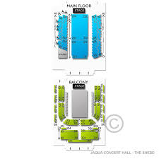 Jaqua Concert Hall The John G Shedd Institute For The