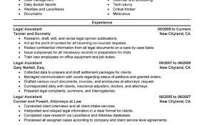 Law Resume Samples Legal Secretary Traditional Best Example ...