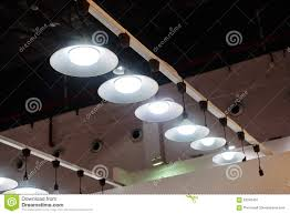 ceiling lights for office. Led Hanging Lighting In Office Stock Image - Of Bulbs, Hall: 63346491 Ceiling Lights For Y