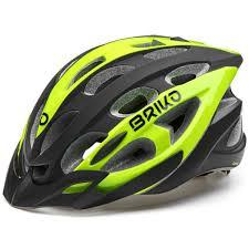 Briko Quarter Helmet Yellow Black