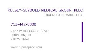 1013915255 Npi Number Kelsey Seybold Medical Group Pllc Houston