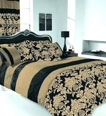 king size duvet covers king size duvet covers cover bedding set black gold co regarding