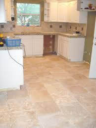 Terracotta Floor Tiles Kitchen Pictures Of Tiled Kitchen Floors With Cabinetry Also Island And