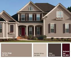 brown exterior paint color schemesDIY Idea for old suitcase  Exterior paint colors East bay and
