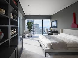 Apartments Modern Simple Bedroom Apartment Design With White