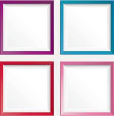 simple frame design. Simple Colored Photo Frame Vectors Design T