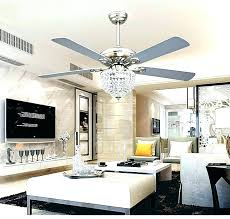 chandelier fans best ceiling for living room choice of fan crystal light kit white with chandeliers dining