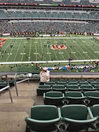Paul Brown Stadium Section 311 Row 7 Seat 22 Cincinnati