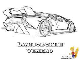 Coloriage Lamborghini Venenol L