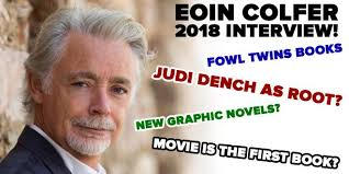 eoin colfer talks about the artemis fowl