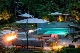 custom swimming pool designs. Custom Perimeter Overflow Swimming Pool Modern-pool Designs O