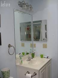 bathroom side cabinets. Before Bathroom Makeover Side Cabinets D